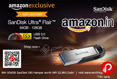 SanDisk Ultra Flair USB 3.0 64GB Flash Drive High Performance