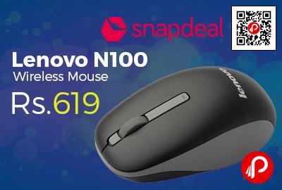 Lenovo N100 Wireless Mouse