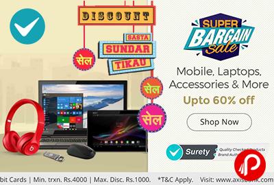 Super Bargain Sale Mobile Laptop Accessories Upto 60% off - Shopclues