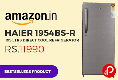 Haier 1954BS-R 195 ltrs Direct Cool Refrigerator