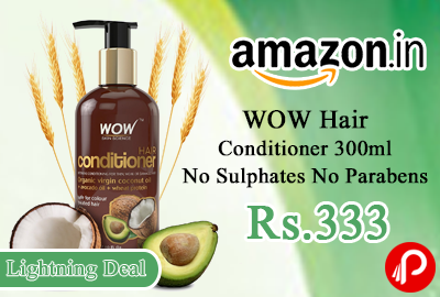 WOW Hair Conditioner 300ml