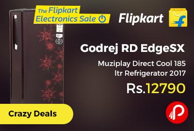 Godrej RD EdgeSX Muziplay Direct Cool 185 ltr Refrigerator 2017