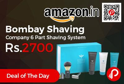 Bombay Shaving Company 6 Part Shaving System