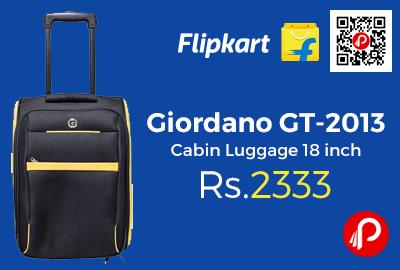 Giordano GT-2013 Cabin Luggage 18 inch