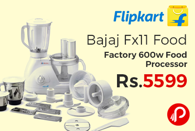 Bajaj Fx11 Food Factory 600w Food Processor