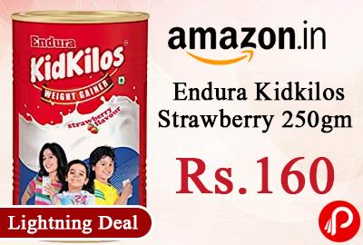 Endura Kidkilos Strawberry 250gm