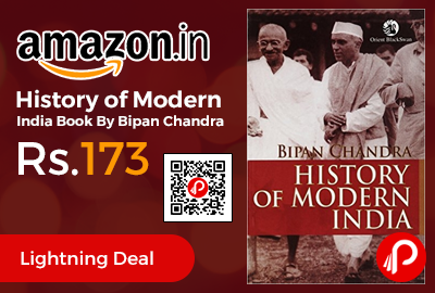 History of Modern India Book