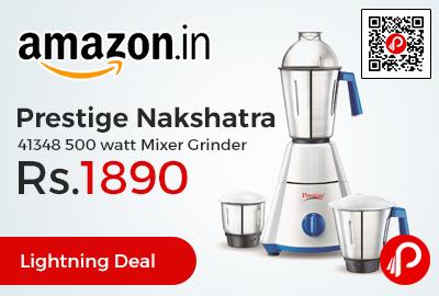 Prestige Nakshatra 41348 500 watt Mixer Grinder