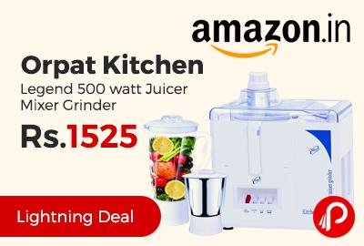 Orpat Kitchen Legend 500 watt Juicer Mixer Grinder