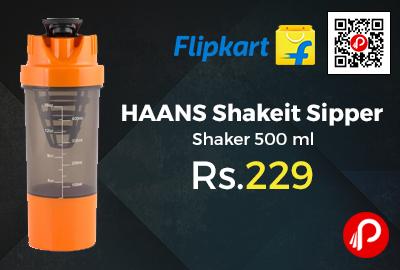 HAANS Shakeit Sipper Shaker 500 ml