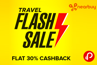 Nearbuy Travel Flash Sale