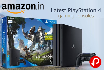 Latest Playstation 4 Gaming Consoles
