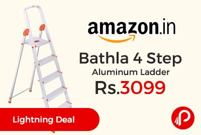 Bathla 4 Step Aluminum Ladder
