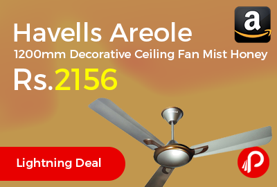 Havells Areole 1200mm Decorative Ceiling Fan
