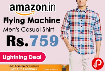 Flying Machine Men's Casual Shirt