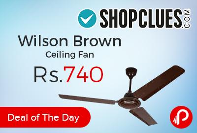 Wilson Brown Ceiling Fan