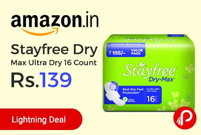 Stayfree Dry Max Ultra