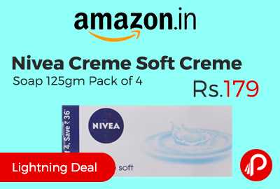 Nivea Creme Soft Creme Soap 125gm