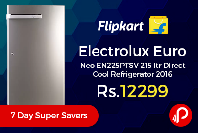 Electrolux Euro Neo EN225PTSV 215 ltr Direct Cool Refrigerator