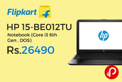 HP 15-BE012TU Notebook