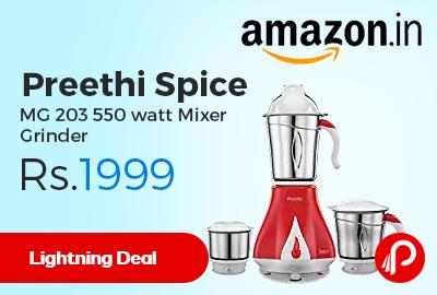 Preethi Spice MG 203 550 watt Mixer Grinder