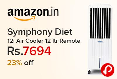 Symphony Diet 12i Air Cooler 12 ltr Remote