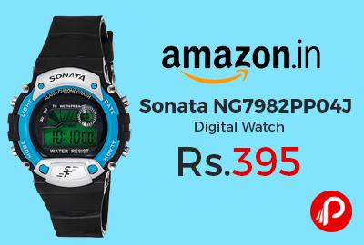 Sonata NG7982PP04J Digital Watch