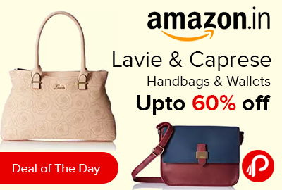 Lavie Caprese Handbags Wallets Lowest Prices Best Online Shopping Deals Daily Fresh Deals In India Paise Bachao India