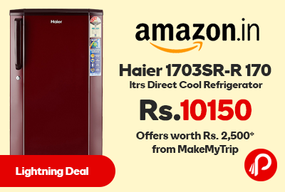 Haier 1703SR-R 170 ltrs Direct Cool Refrigerator