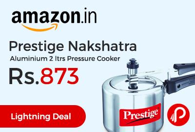 Prestige Nakshatra Aluminium 2 ltrs Pressure Cooke