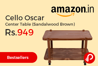 Cello Oscar Center Table