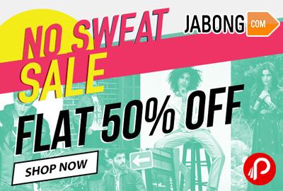 No Sweat Sale