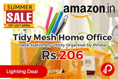 Tidy Mesh Home Office Desk Stationery Utility Organiser