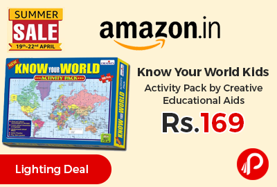 Know Your World Kids Activity Pack