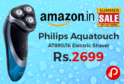 Philips Aquatouch AT890/16 Electric Shaver