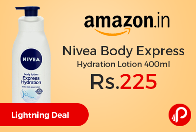 Nivea Body Express Hydration Lotion 400ml