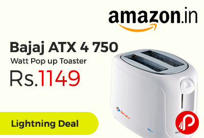 Bajaj ATX 4 750 Watt Pop up Toaster