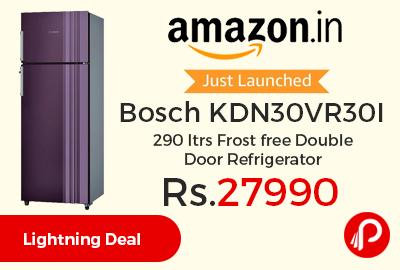 Bosch KDN30VR30I 290 ltrs Frost free Double Door Refrigerator