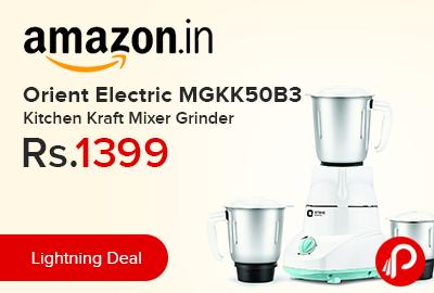 Orient Electric MGKK50B3 Kitchen Kraft Mixer Grinder