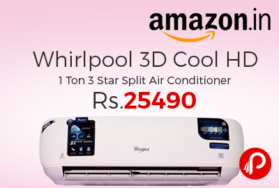 Whirlpool 3D Cool HD 1 Ton 3 Star Split Air Conditioner