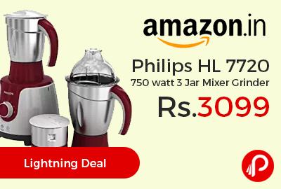 Philips HL 7720 750 watt 3 Jar Mixer Grinder