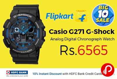 Casio G271 G-Shock Analog Digital Chronograph Watch