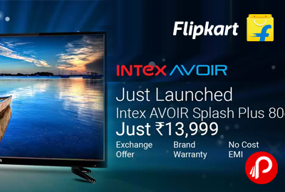 "Intex AVOIR Splash Plus 32"" HD LED TV"