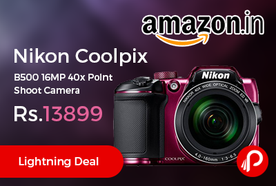 Nikon Coolpix B500 16MP Point Shoot Camera