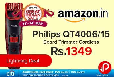 Philips QT4006/15 Beard Trimmer Cordless