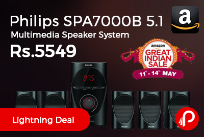 Philips SPA7000B 5.1 Multimedia Speaker System