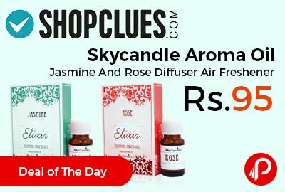 Skycandle Aroma Oil Jasmine Rose Diffuser Air Freshener