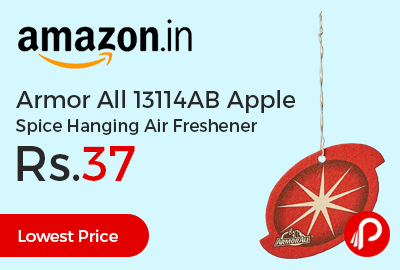 Armor All 13114AB Apple Spice Hanging Air Freshener
