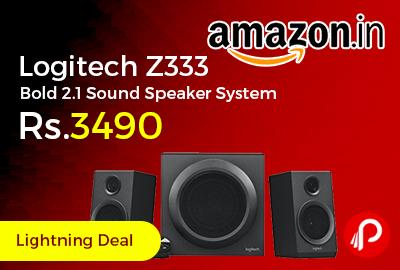 Logitech Z333 Bold 2.1 Sound Speaker System