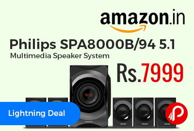 Philips SPA8000B/94 5.1 Multimedia Speaker System